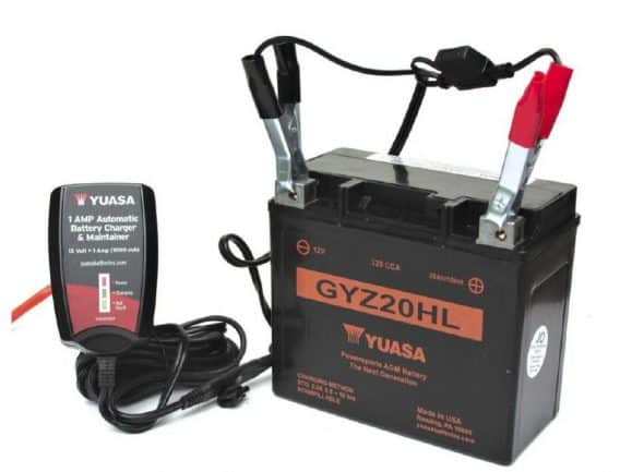 Winter Battery Storage automatic battery charger & maintainer