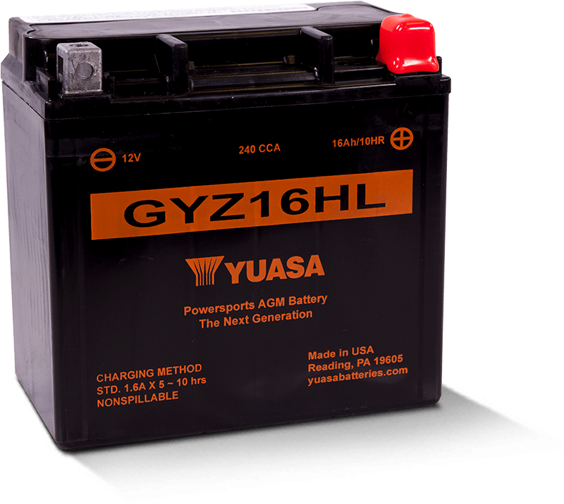 GYZ16HL Battery made by Yuasa