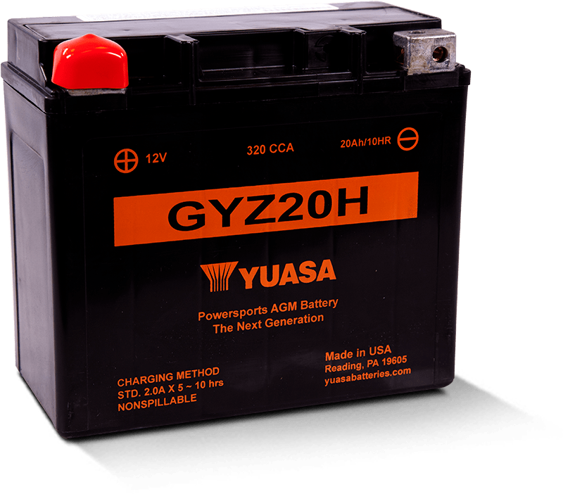 GYZ20H Battery for powersports