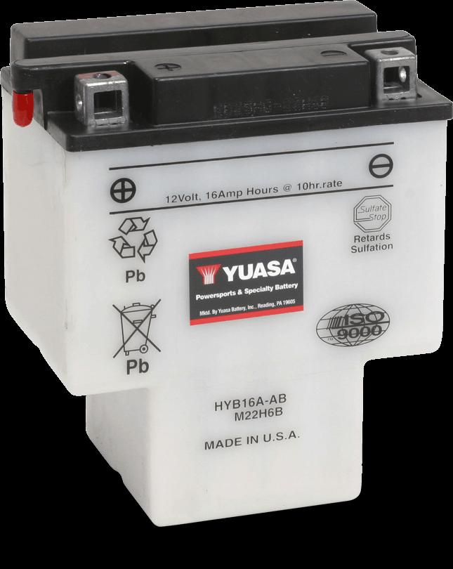 HYB16A-AB Powersport Battery