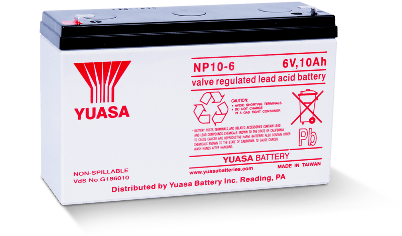 NP10-6 Battery