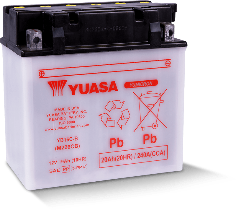 Yumicron and Conventional Batteries | Yuasa Batteries ...