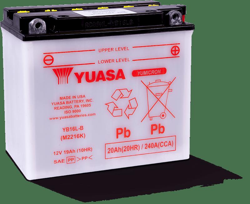 YB16L-B - Yuasa Battery, Inc.