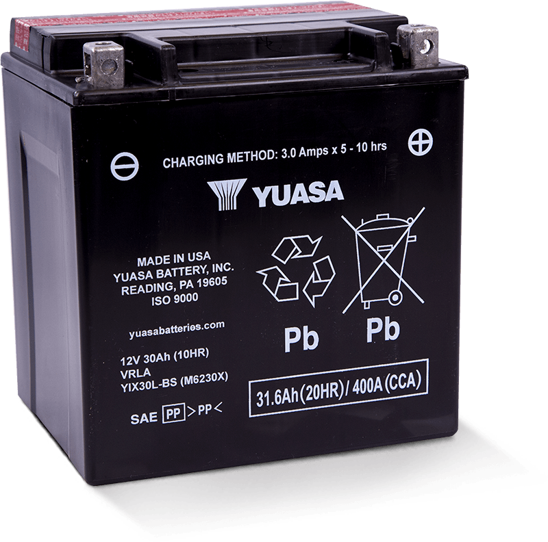 YIX30L-BS - Yuasa Battery, Inc