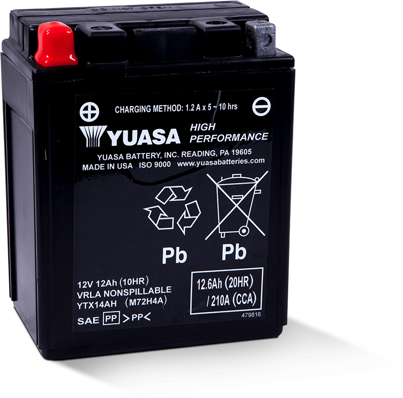 Yuasa YTX14AH Battery
