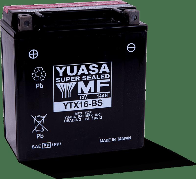 Yuasa YTX16-BS 12v Battery