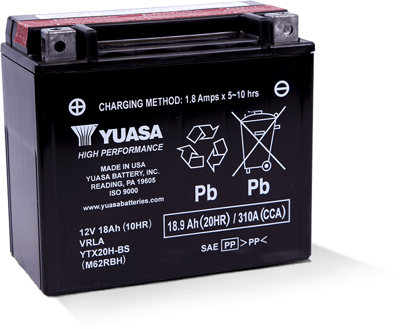 Yuasa YTX20H-BS Battery