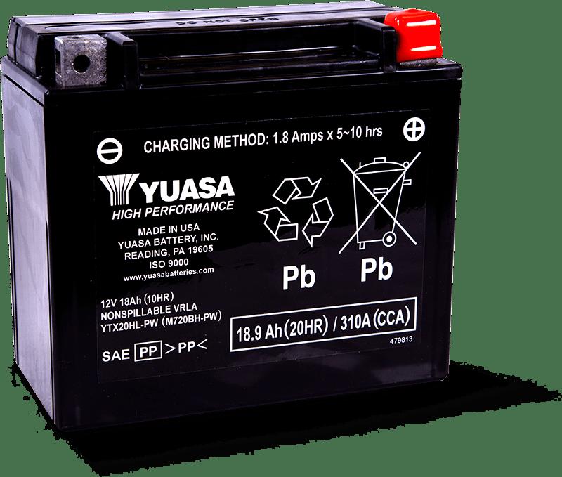 Yuasa YTX20HL-PW Battery