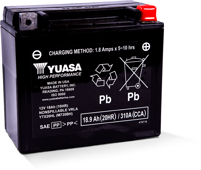 Yuasa YTX20HL Battery