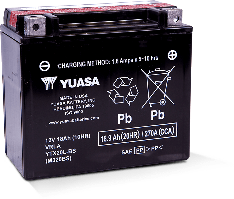 Yuasa YTX20L-BS Battery