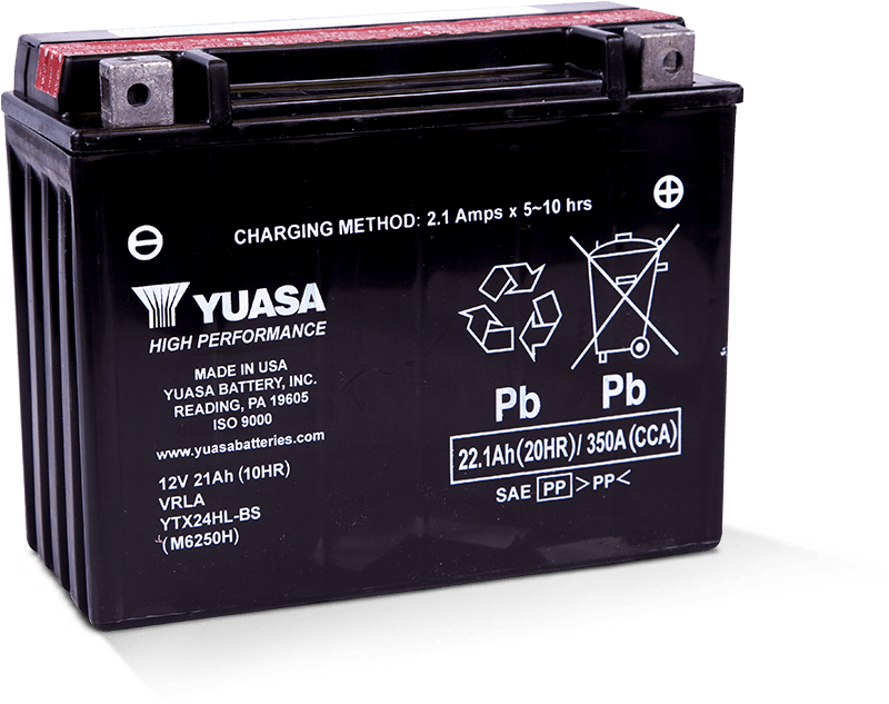 YTX24HL-BS High performance battery