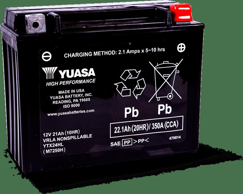 Yuasa YTX24HL Battery