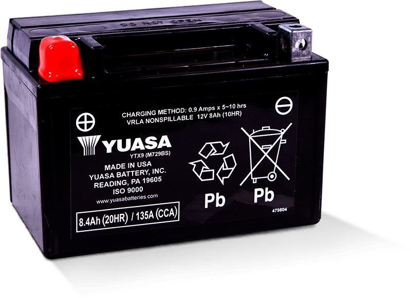 Yuasa YTX9 Battery