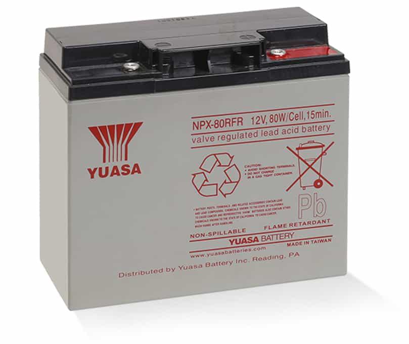 NPX-80RFR 12V Battery