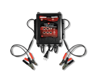 2 AMP Dual-Bank Automatic Battery Charger & Maintainer